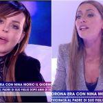 Lite tra Nina Moric e Karina Cascella a Live: 'Stai al posto tuo e torna a Uomini e donne'