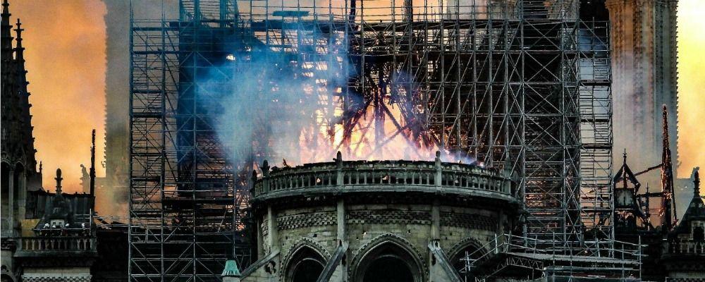 Ascolti tv, Speciale Tg1 sull'incendio di Notre Dame vince sul Grande Fratello 2019