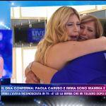 Paola Caruso, Imma è la madre biologica: la scoperta da Barbara D'Urso