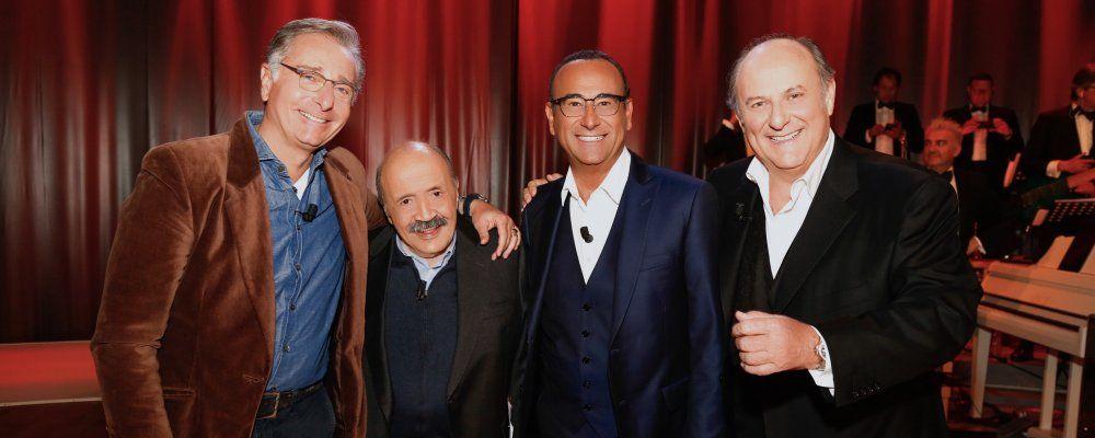 Maurizio Costanzo Show, puntata speciale con Gerry Scotti, Paolo Bonolis e Carlo Conti, anticipazioni