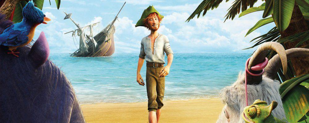 Robinson Crusoe, trama trailer e curiosità del film a cartoni animati