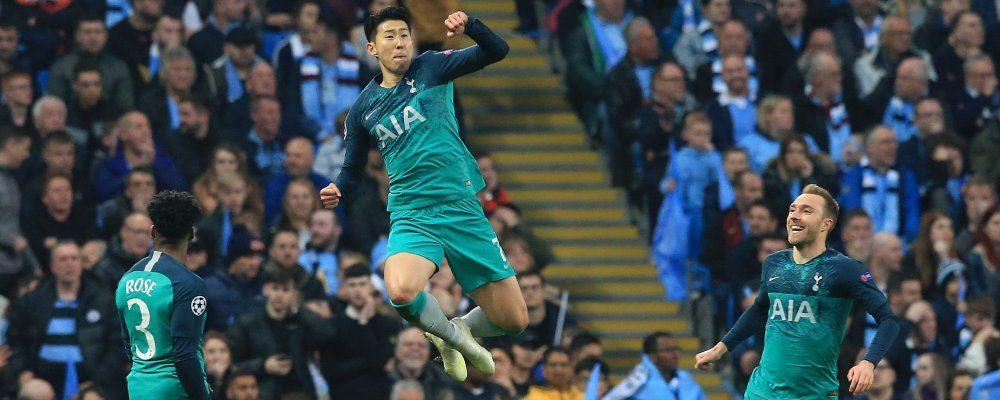 Ascolti tv, vince Manchester City - Tottenham bene Live non è la D'Urso