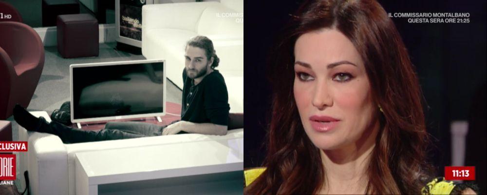 Luca Favilla infortunato, Manuela Arcuri: 'Non gli rispondono i muscoli delle gambe'