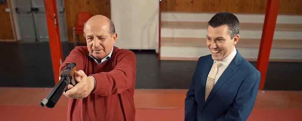 Giancarlo Magalli, tiro alla volpe con Saverio Raimondo