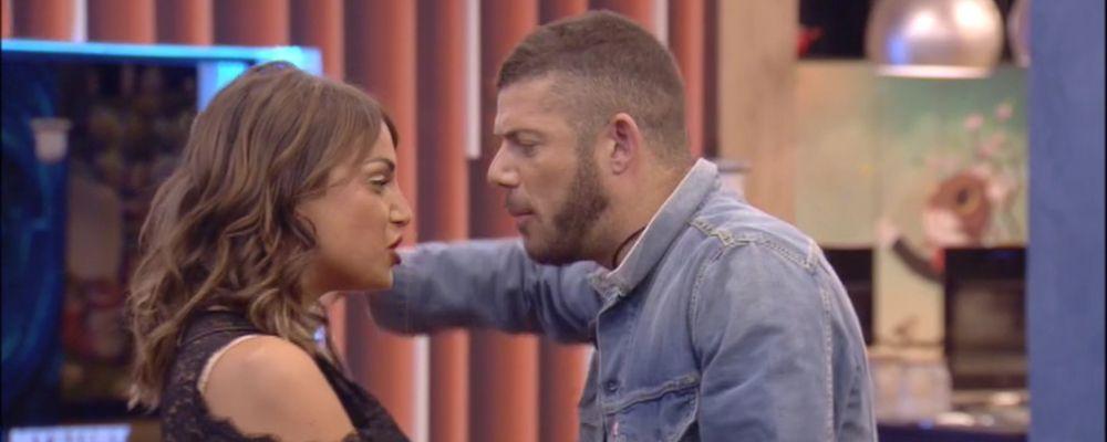 Grande fratello, Francesca De André sbrocca con Giorgio: 'Se mi hai tradito lo devi dire'