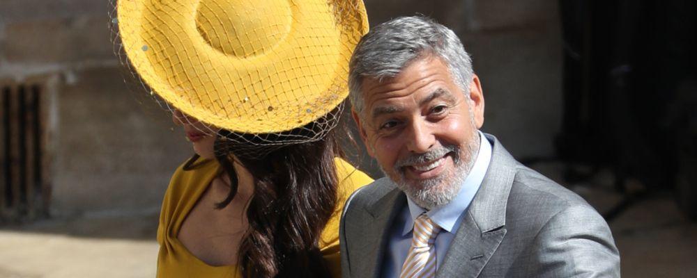 George Clooney se la prende con il Royal Baby: 'Mi sta rubando la scena'