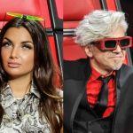The Voice, Morgan piacione con Elettra Lamborghini: 'Ti hanno fatta troppo bella'