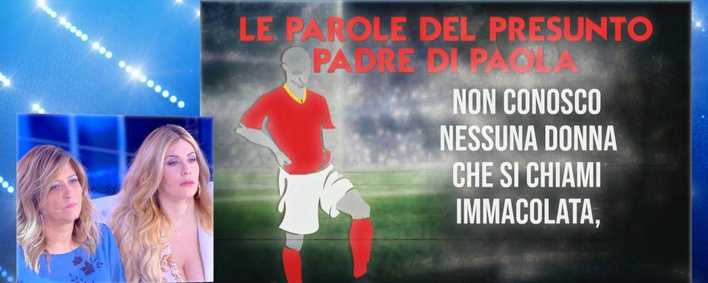 best authentic fashion style clearance prices Paola Caruso, il calciatore presunto padre biologico ...