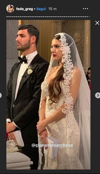 Clarissa Marchese e Federico Gregucci sposi: le foto del