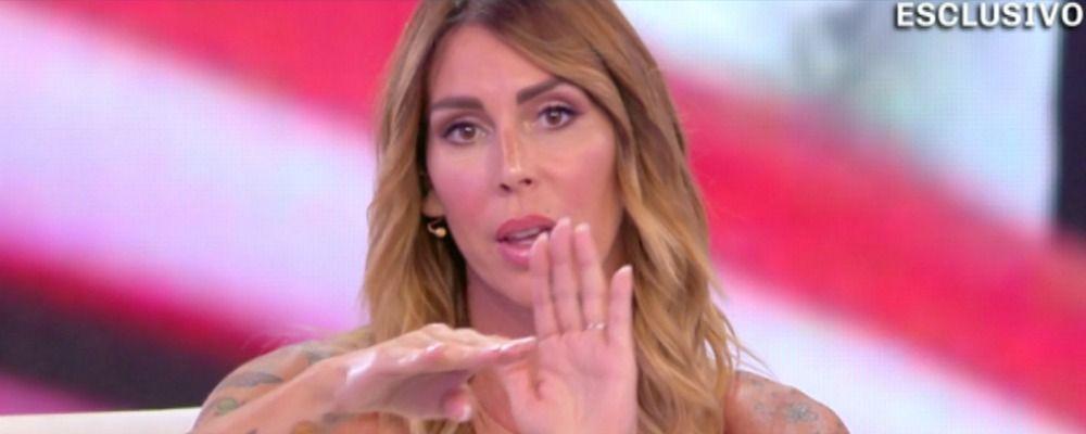 Domenica Live, Guendalina Canessa a Francesca De André: 'Giorgio sta facendo lo schifo'