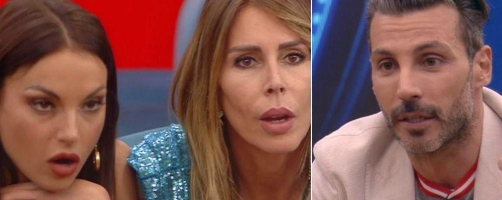 Grande Fratello, Daniele Interrante il confronto con le ex Francesca De André e Guendalina Canessa