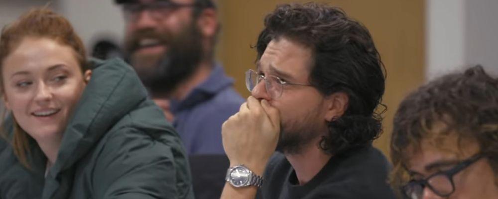 Game of Thrones, le lacrime di Jon Snow