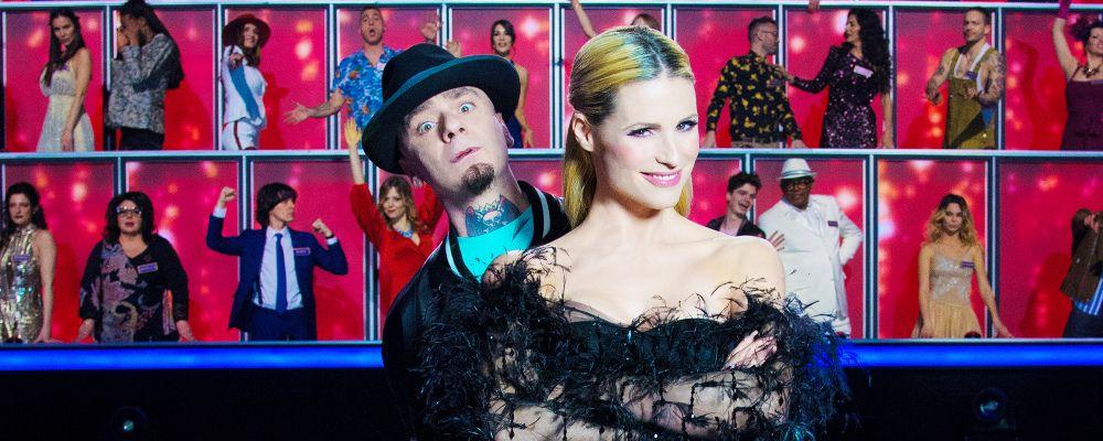 All together now, quarta puntata: Gianluca Vacchi super ospite di Michelle Hunziker