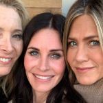Reunion (femminile) di Friends: Courteney Cox, Jennifer Aniston e Lisa Kudrow ancora insieme