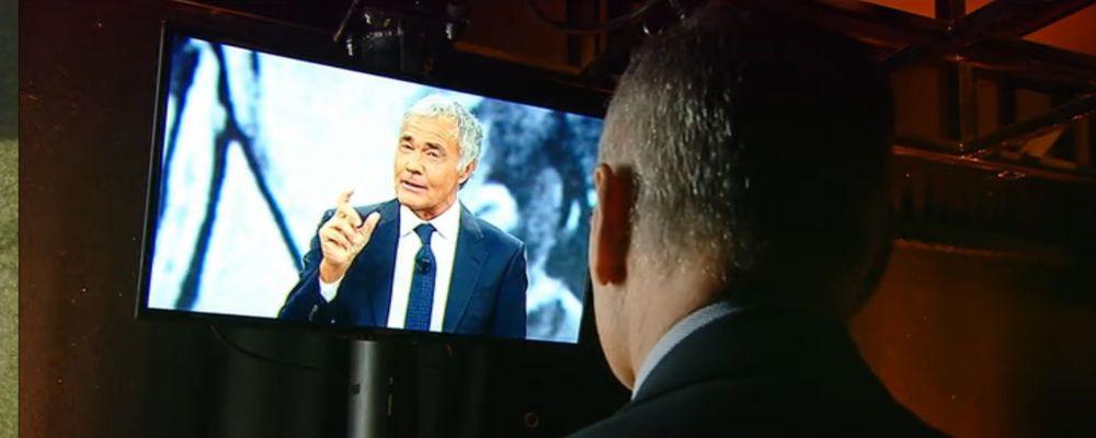Massimo Giletti mostra Mark Caltagirone a Non è l'arena: 'Parlerà solo da Barbara D'Urso'