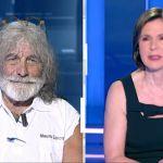 Mauro Corona, le scuse a Bianca Berlinguer: 'Caratteraccio? Lo so, ho imparato più calma'