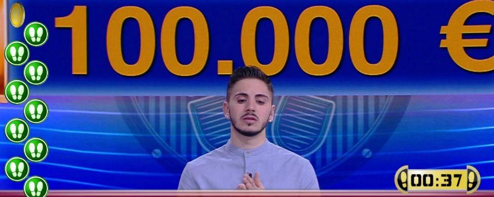 Nicolò Scalfi, il campione di Caduta libera vince ancora e arriva a 500mila euro