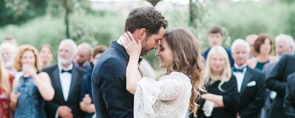 Lucifer si sposa: Tom Ellis e Meaghan Oppenheimer si sono uniti in matrimonio