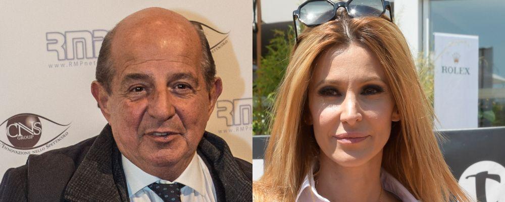 Adriana Volpe vs Giancarlo Magalli: 'Basta violenza'. La replica: 'Nessuno vuol farti del male'