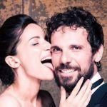 Andrea Delogu e Francesco Montanari, anniversario di matrimonio sulle note di T'appartengo