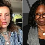 Bella Thorne in lacrime dopo le accuse di Whoopi Goldberg per le foto hackerate