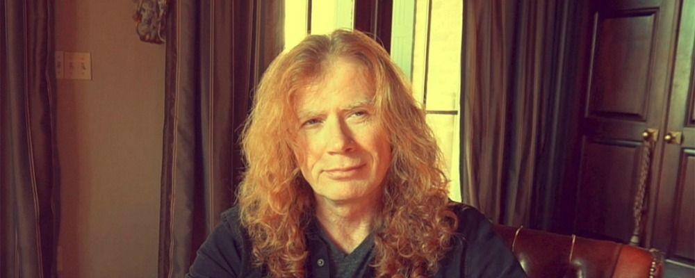 Dave Mustaine, il leader dei Megadeth: 'Ho un cancro alla gola'