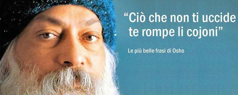 #senzafiltri, Federico Palmaroli racconta le più belle frasi di Osho