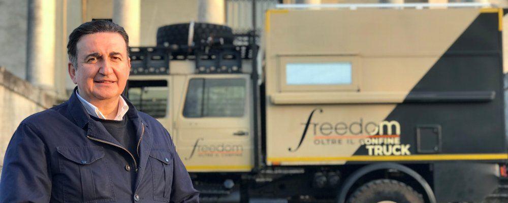 Freedom Oltre il confine, Roberto Giacobbo esplora L'Aquila