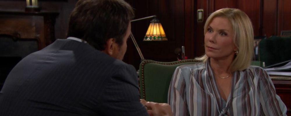 Beautiful, Brooke dubita del fidanzamento di Thorne: anticipazioni trame dal 15 al 19 luglio