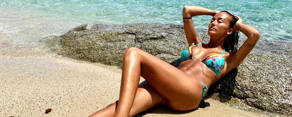 Giorgia Palmas, torrida estate sui social con e senza Filippo Magnini