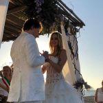 Stefania Orlando e Simone Gianlorenzi sono sposati: le foto del matrimonio e gli invitati vip
