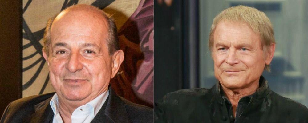 Giancarlo Magalli al posto di Terence Hill, la clamorosa rivelazione su Don Matteo