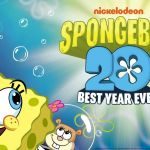 SpongeBob SquarePants con il Best year ever la festa per i 20 anni
