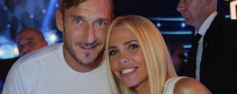Ilary Blasi e Francesco Totti, iniziate le riprese della sit com Casa Totti