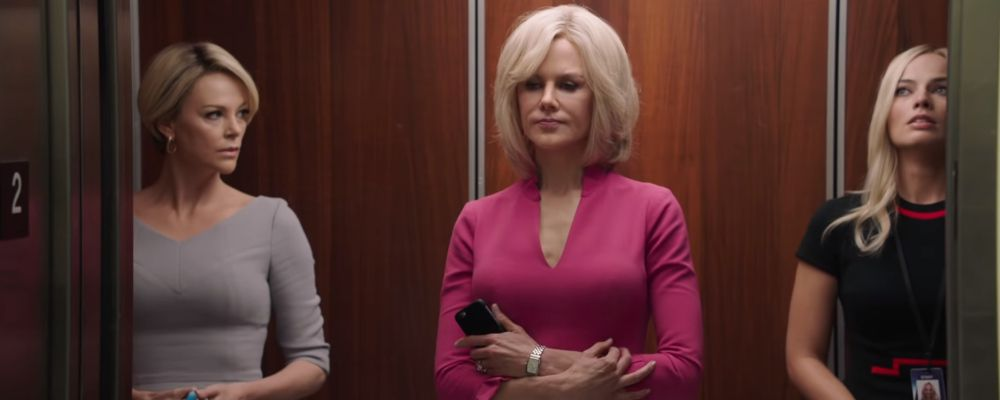 Bombshell, il trailer del nuovo film con Margot Robbie, Charlize Theron e Nicole Kidman