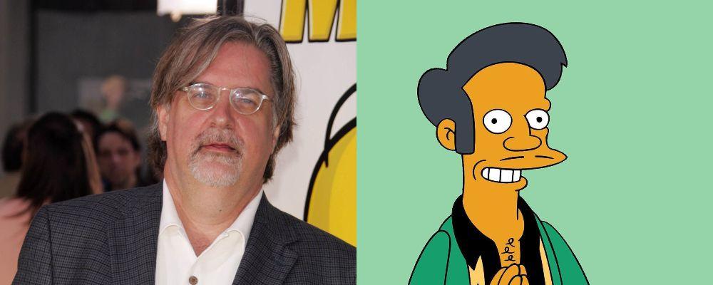 I Simpson, Matt Groening smentisce la cancellazione di Apu: 'Noi ne siamo orgogliosi'