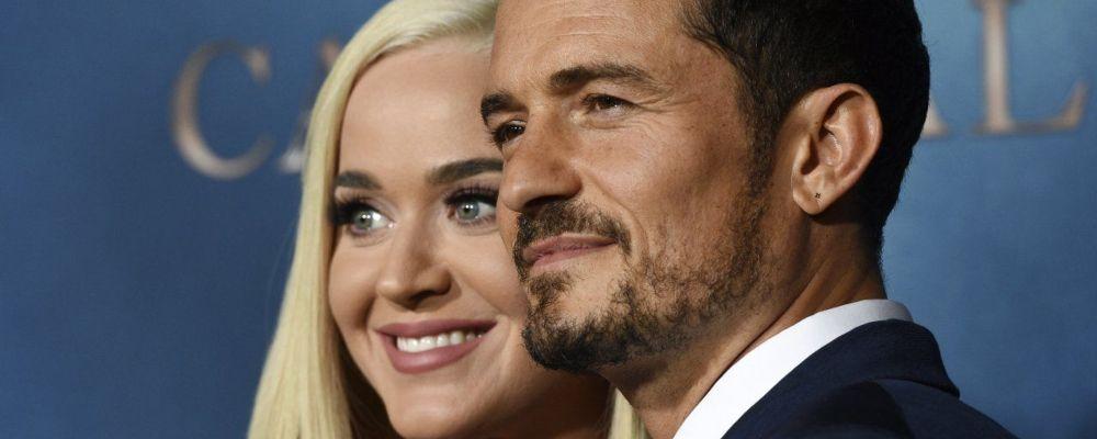 Katy Perry e Orlando Bloom insieme sul red carpet: 'Ecco il nostro segreto'