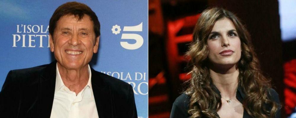 Gianni Morandi ringiovanisce con FaceApp e ci 'prova' con Elisabetta Canalis