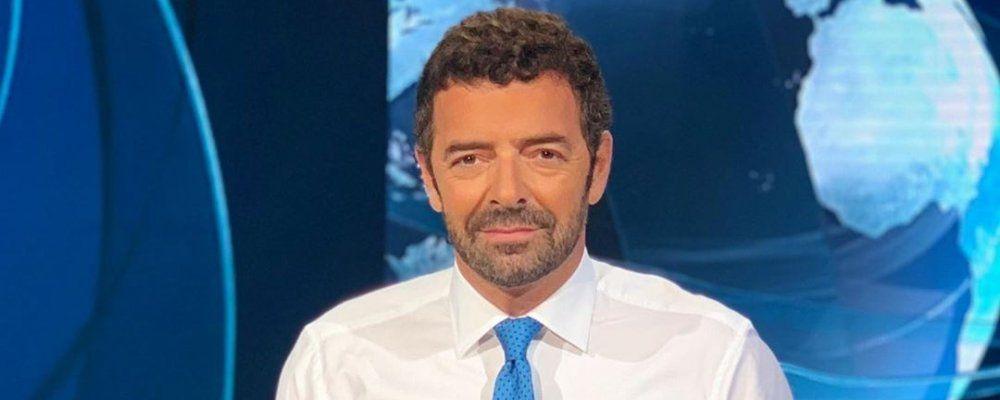 Alberto Matano lascia il Tg1: 'Per un po' non condurrò più il tg'