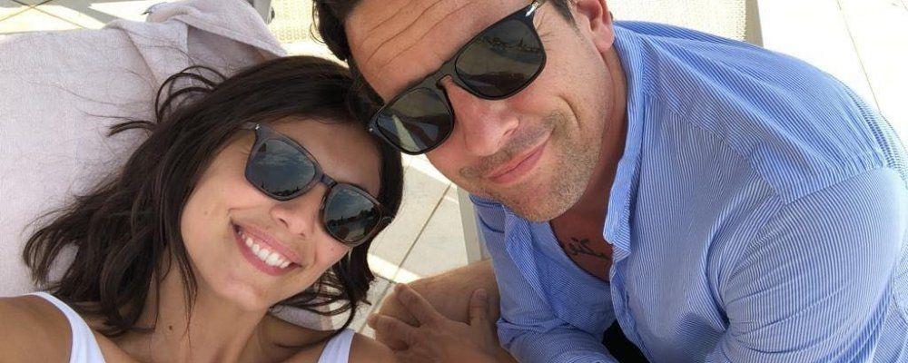 Alessandra Mastronardi a Venezia col fidanzato Ross McCall