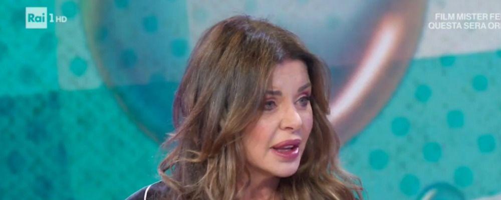 Vieni da me, Alba Parietti risponde a Franco Oppini: 'Racconto squallido non degno di lui'