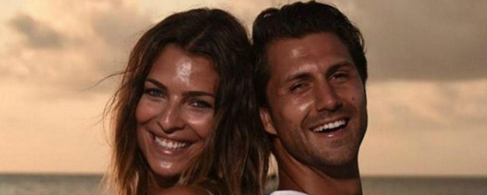 Cristina Chiabotto festeggia l'anniversario di nozze con Marco Roscio al cinema