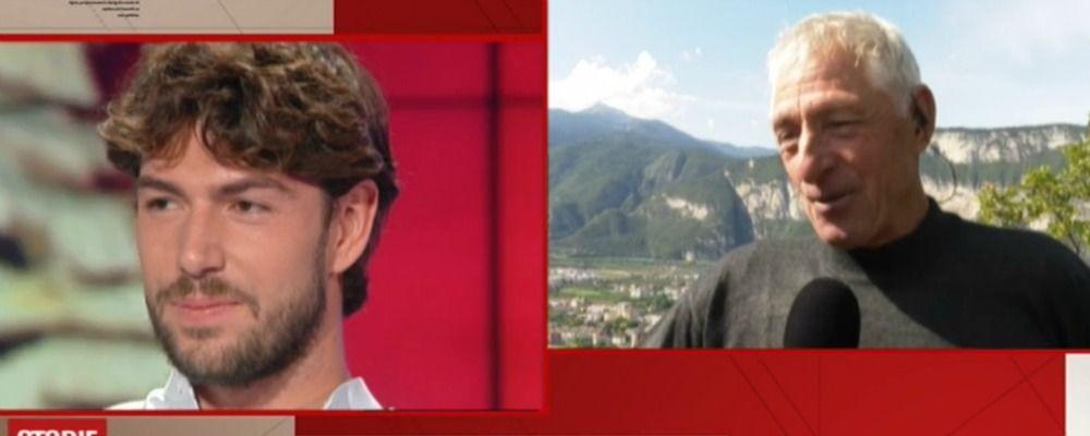 Storie italiane, Francesco Moser: 'Ignazio e Cecilia si sposano? Sarò l'ultimo a saperlo'