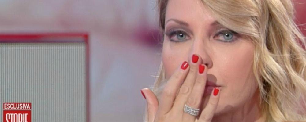 Manila Nazzaro in lacrime a Storie italiane parla della malattia: 'Avevo bisogno d'aiuto'
