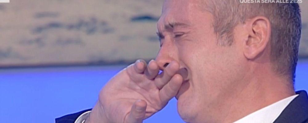Io e te, Pierluigi Diaco e la dichiarazione d'amore in lacrime al marito Alessio Orsingher