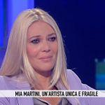 Storie Italiane, Eleonora Daniele si commuove per Mia Martini
