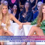 Taylor Mega presenta la nuova fidanzata Giorgia Caldarulo a Live non è la d'Urso