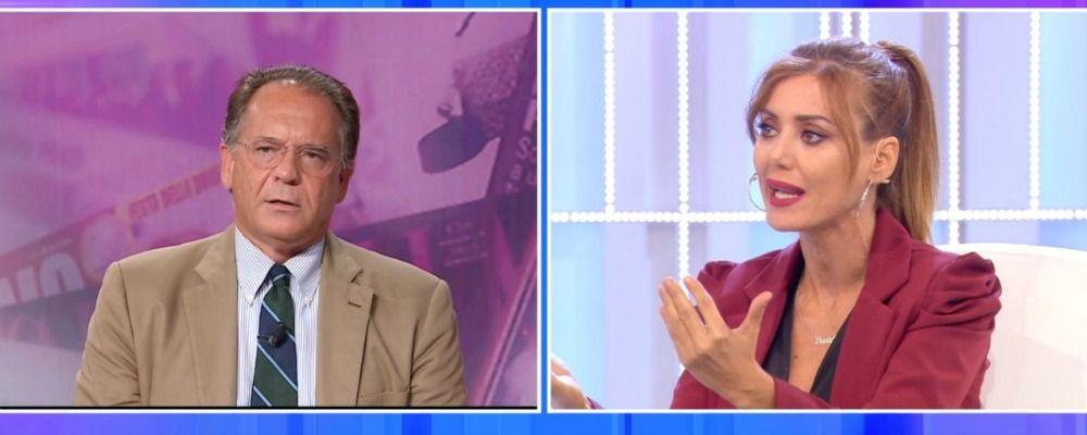Pomeriggio Cinque, Alessandro Cecchi Paone litiga con Daniela Martani e lascia lo studio