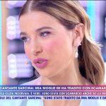 Clizia Incorvaia a Live: 'Con Riccardo Scamarcio solo un bacio, ma ero già separata'