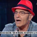 Storie italiane, Francesco Baccini: 'Ho vissuto per un anno in macchina'